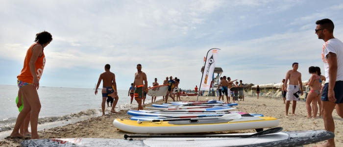 Locals Crew Open Day 2015 - SUP Race 1