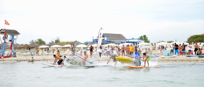 Locals Crew Open Day 2015 - SUP Race 16