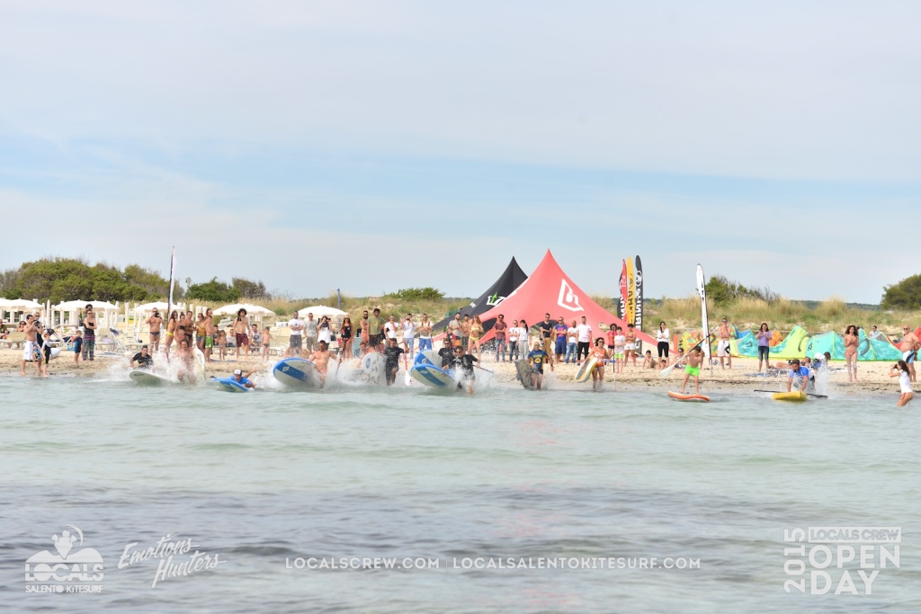 Locals Crew Open Day 2015 - SUP Race 4