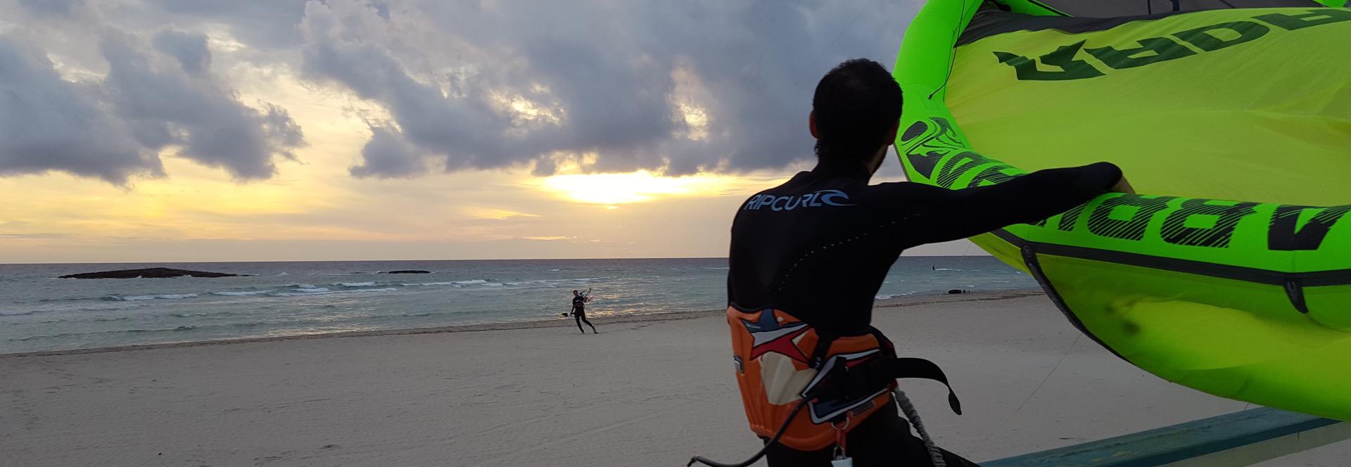 Sun-Set-Kitesurfing